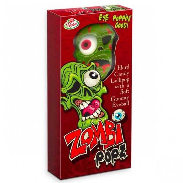Eye Poppin Good Lollipop With A Gummy Eyeball