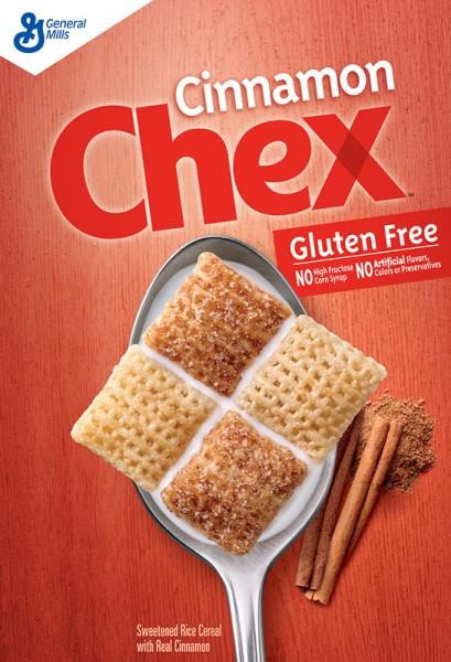Chex Cereal, Gluten Free, Cinnamon