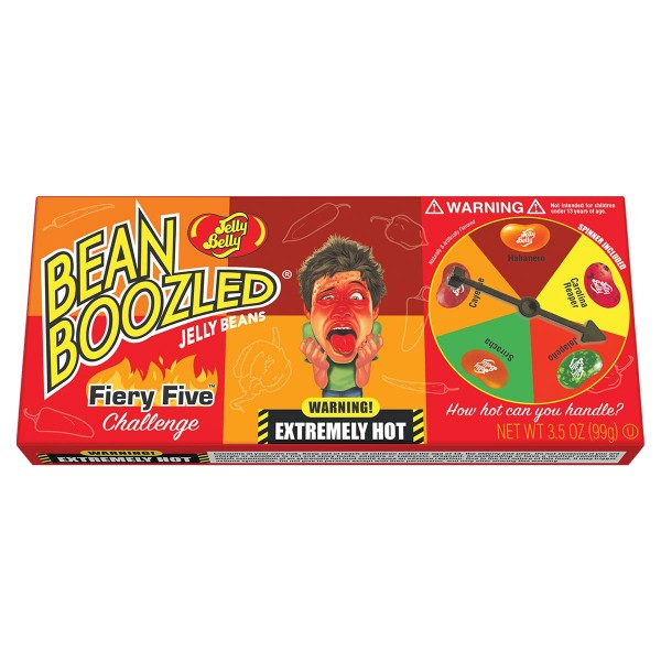 Jelly Belly Bean Boozled Flaming Five Challenge