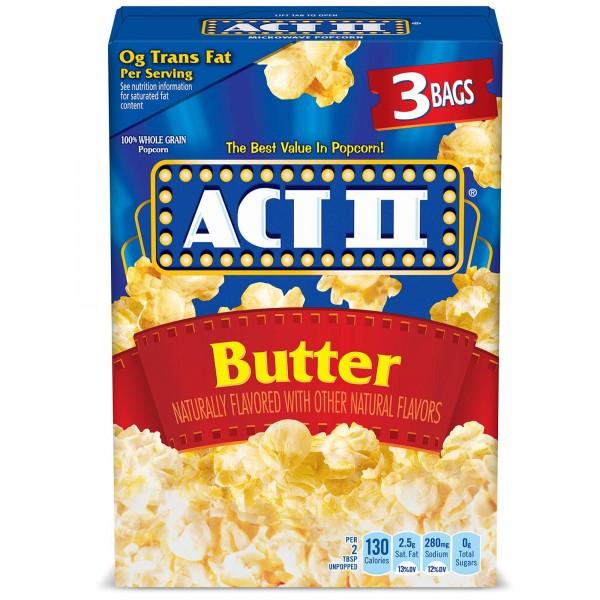 Act II Butter Popcorn 3 Bags
