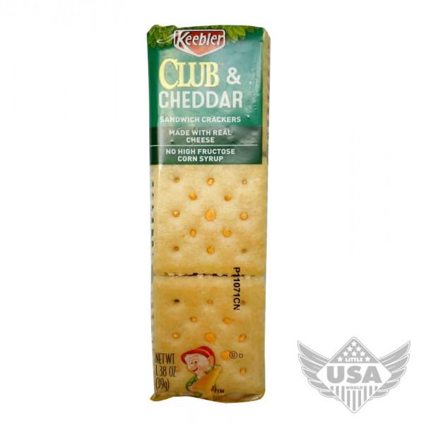 Keebler Club & Cheddar Sandwich Cracker