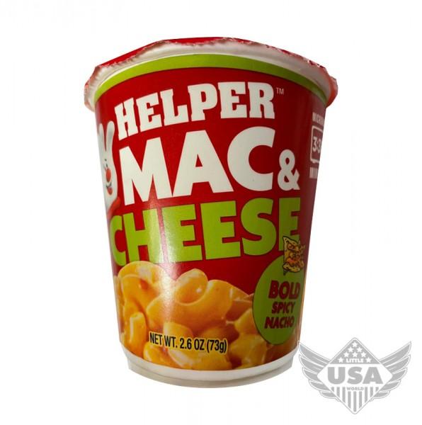 Helper Mac & Cheese Bold Spicy Nacho Cup