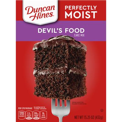 Duncan Hines Devils Food Cake Mix
