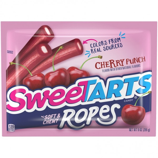 SweeTARTS Cherry Punch Soft & Chewy Ropes