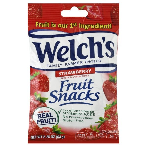 Welch's Fruit Snacks Strawberry