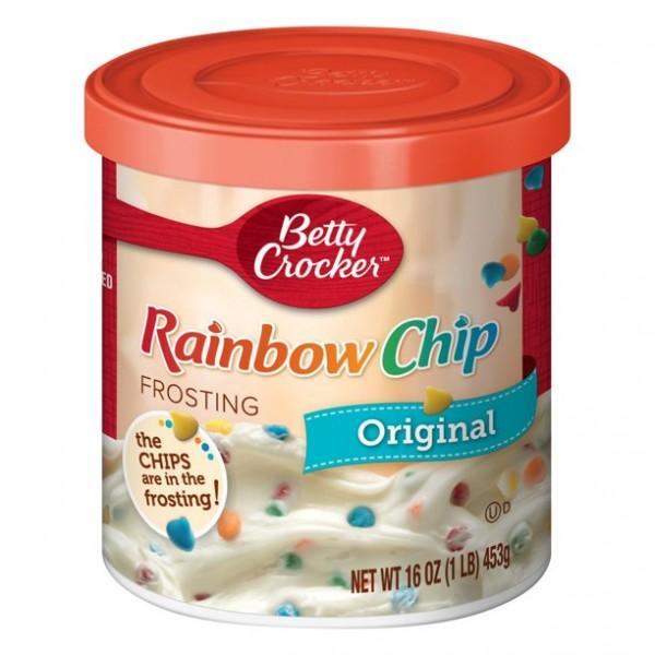 Betty Crocker Rich & Creamy Rainbow Chip Frosting