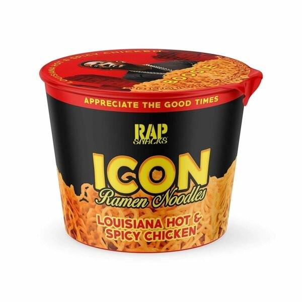 Rap Snacks Louisana Hot&Spicy Ramen Noodle Cup