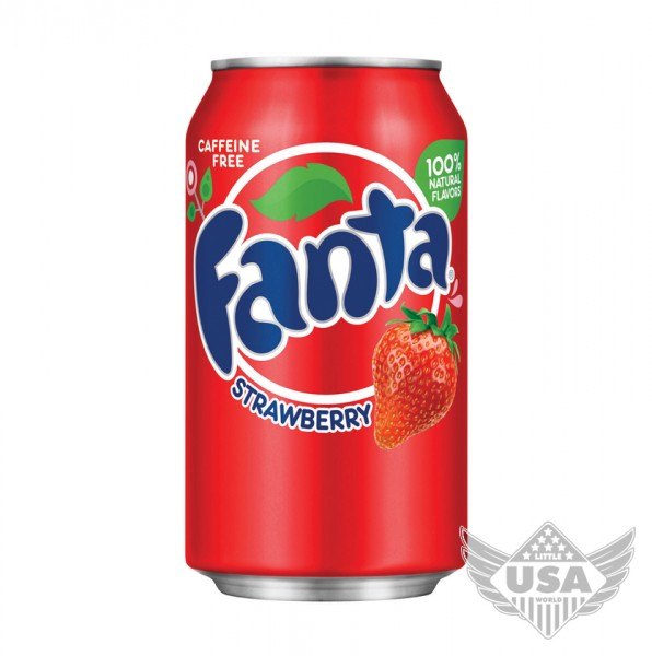 Fanta Strawberry Soda