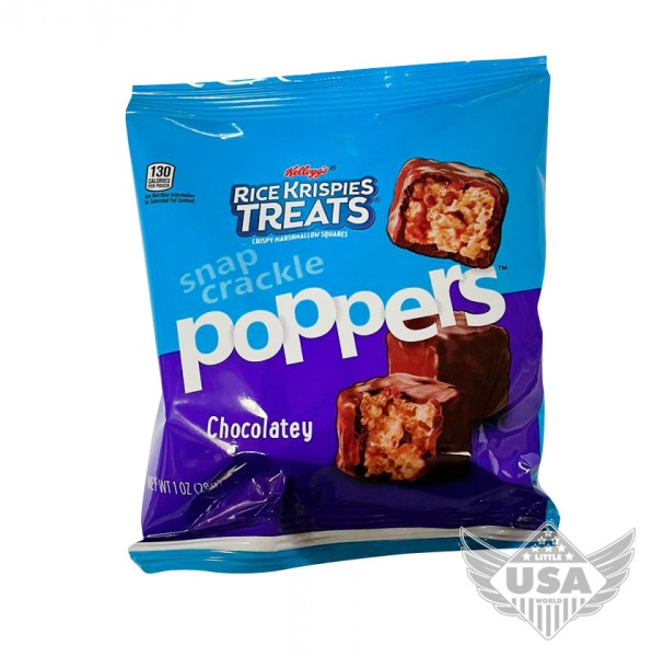 Rice Krispies Poppers Chocolatey