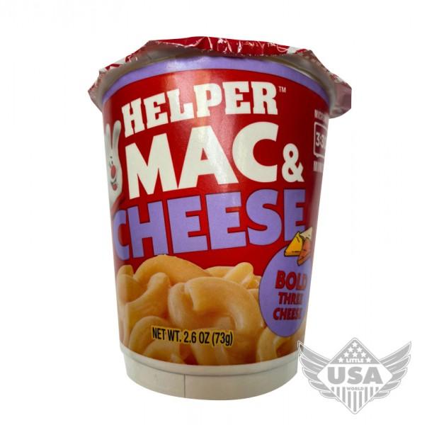 Helper Mac & Cheese Bold Three Cheese Cup