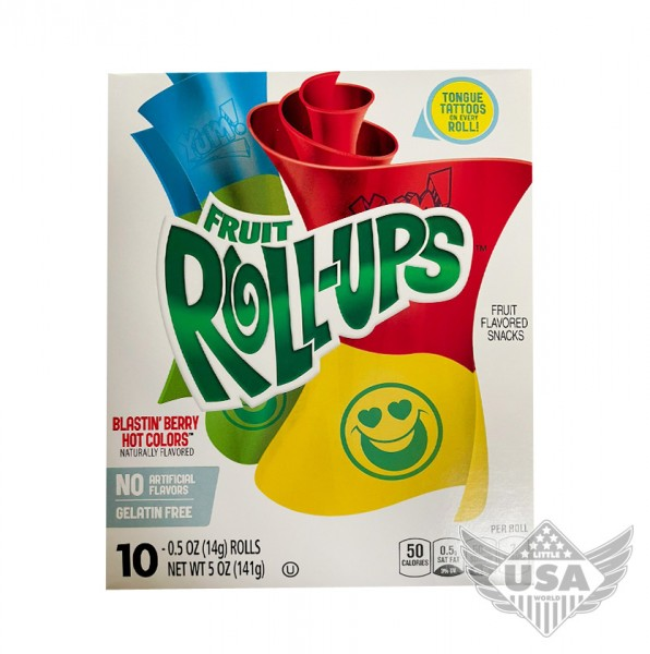 Roll-Ups Berry Hot Colors