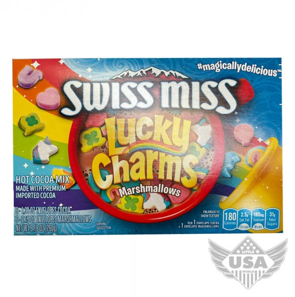 Swiss Miss Lucky Charms Hot Chocolate Mix
