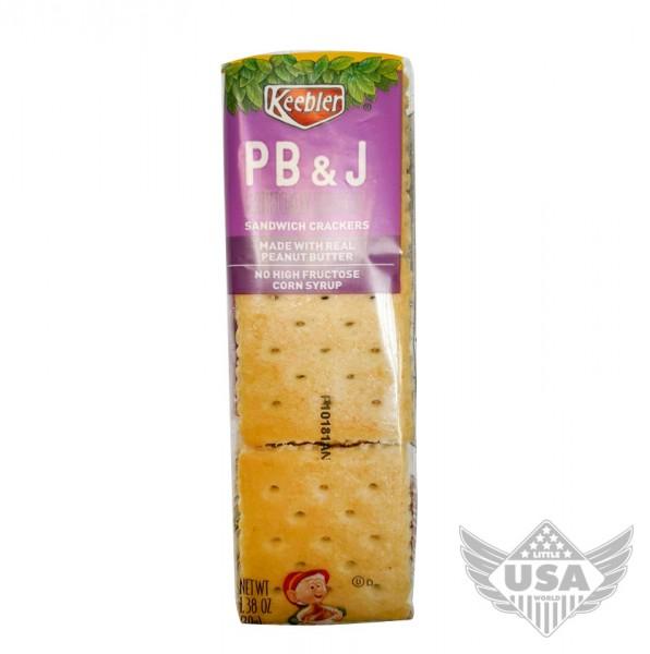 Keebler PB & J Sandwich Cracker