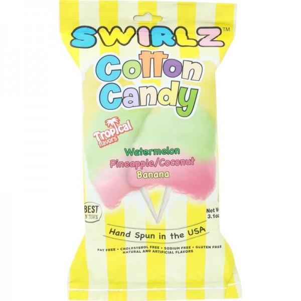 Swirlz Cotton Candy Tropical Flavor