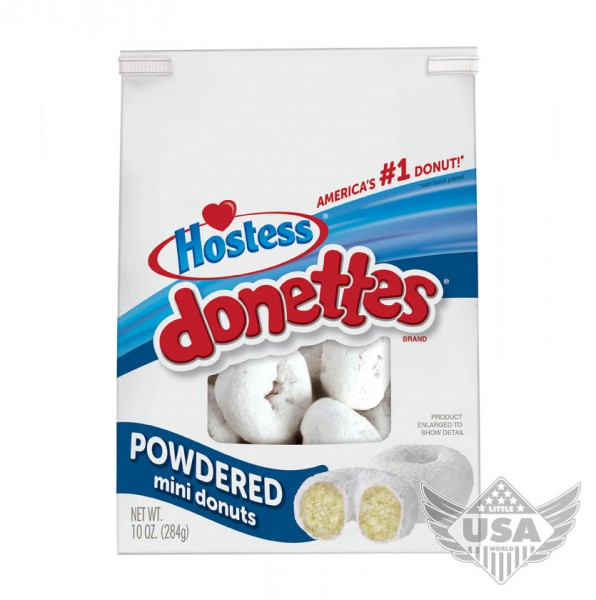 Donettes mini powdered in a bag