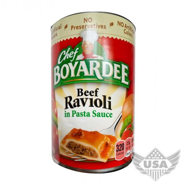 Chef Boyardee Beef Ravioli In Pasta Sauce