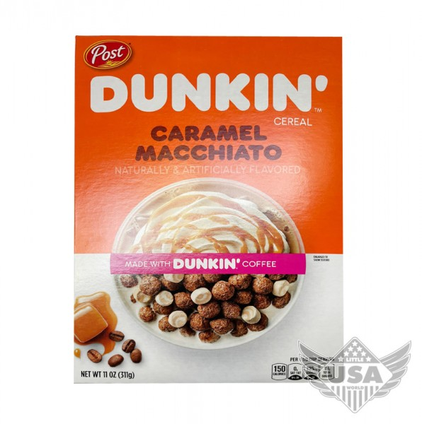 Dunkin Caramel Macciato Cereal