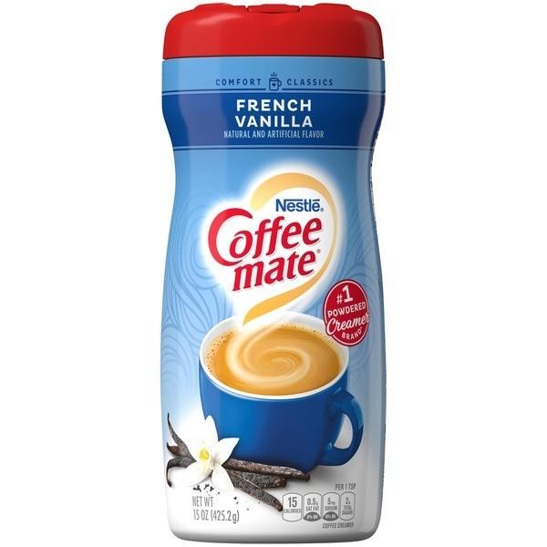 Nestle Coffee-mate Powdered Creamer, French Vanilla