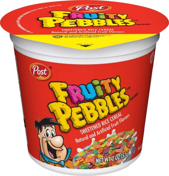 Post Fruity Pebbles Cup