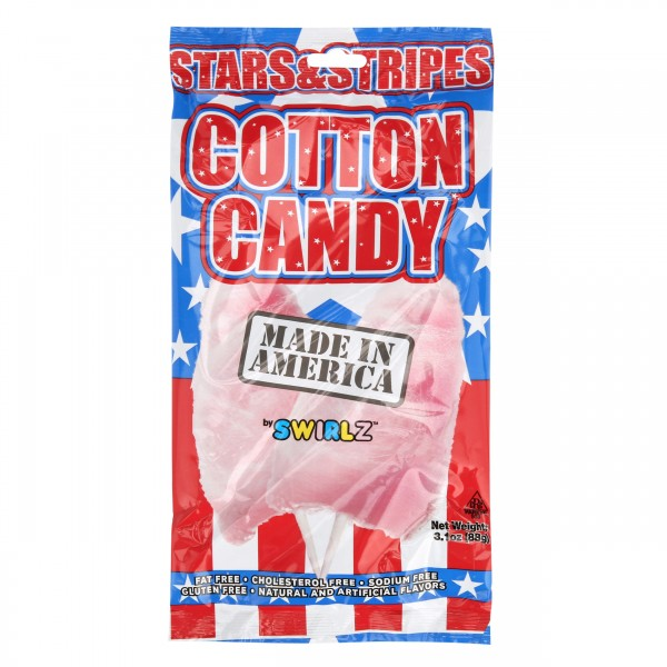 Swirlz Stars & Strips Cotton Candy