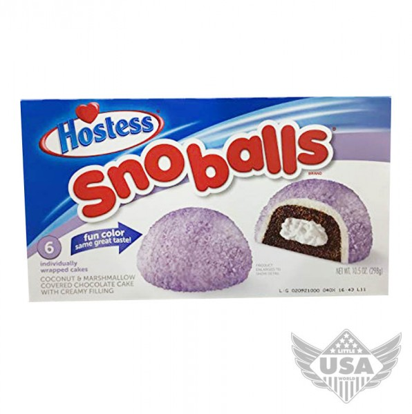 purple snoballs