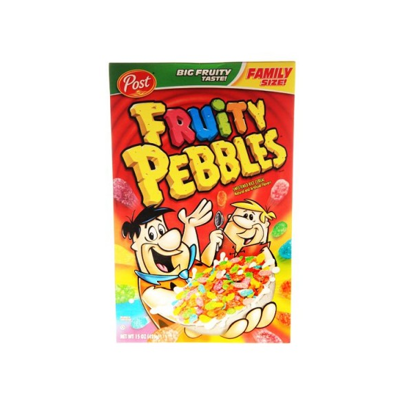 Post - Fruity Pebbles Cereals Family size