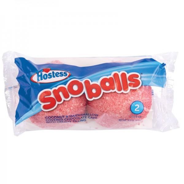 Hostess SnoBalls 2 Cakes, MHD: 3.August 2021