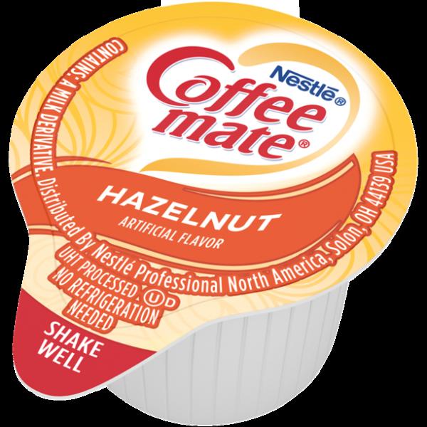 Coffee Mate Hazelnut Liquid Coffee Creamer 1x11ml Single, Lactose-Free