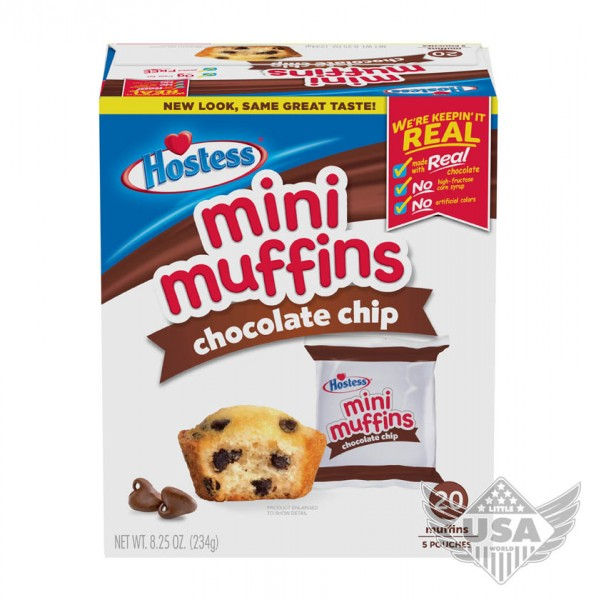 chocolate chip mini muffins multipack 5 pouches