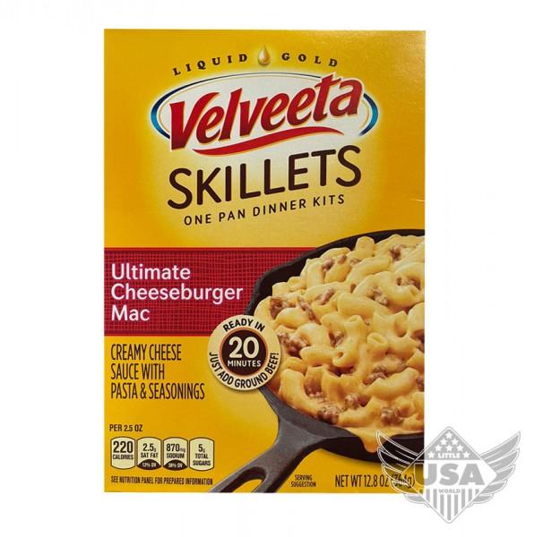 Velveeta Skillets ultimate Cheeseburger & Mac