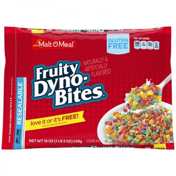 Malt-O-Meal Fruity Dyno Bites® Gluten Free Breakfast Cereal