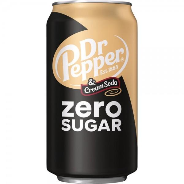 Dr Pepper & Cream Soda Zero Sugar