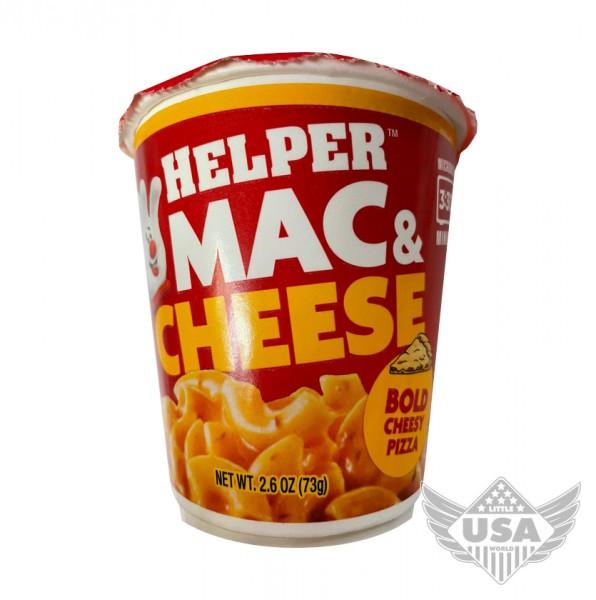 Helper Mac & Cheese Bold Cheesy Pizza Cup