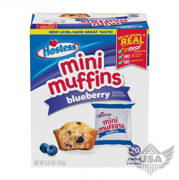 blueberry mini muffins multipack 5 pouches