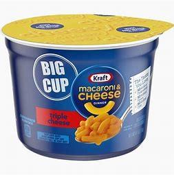 Macaroni & Cheese Big Cup Triple